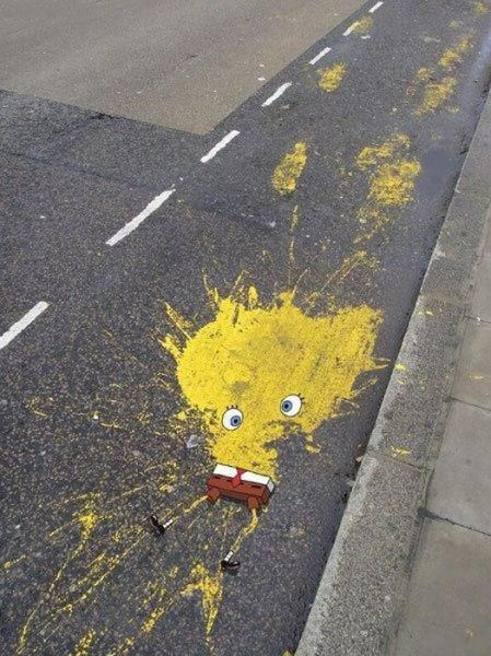 SpongeBob On The Streets