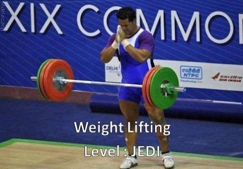Weight Lifting - Level Jedi