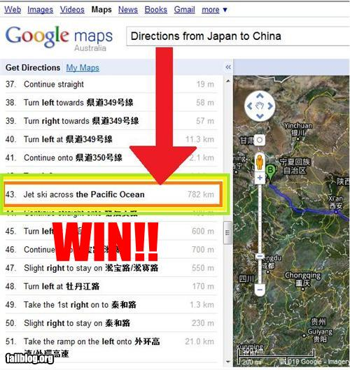 Map Directions WIN