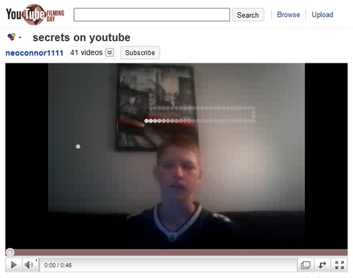 Easter Egg: YouTuber neoconnor1111 was tipped off by...